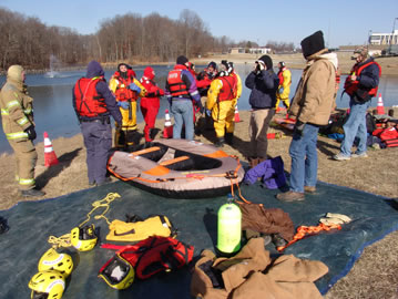 Ice Rescue group